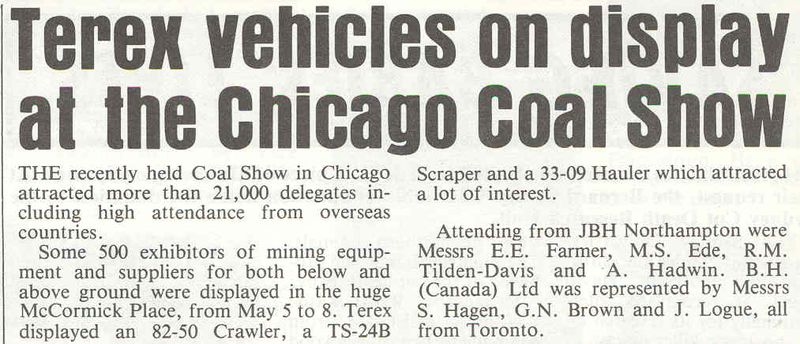 Terex chicago