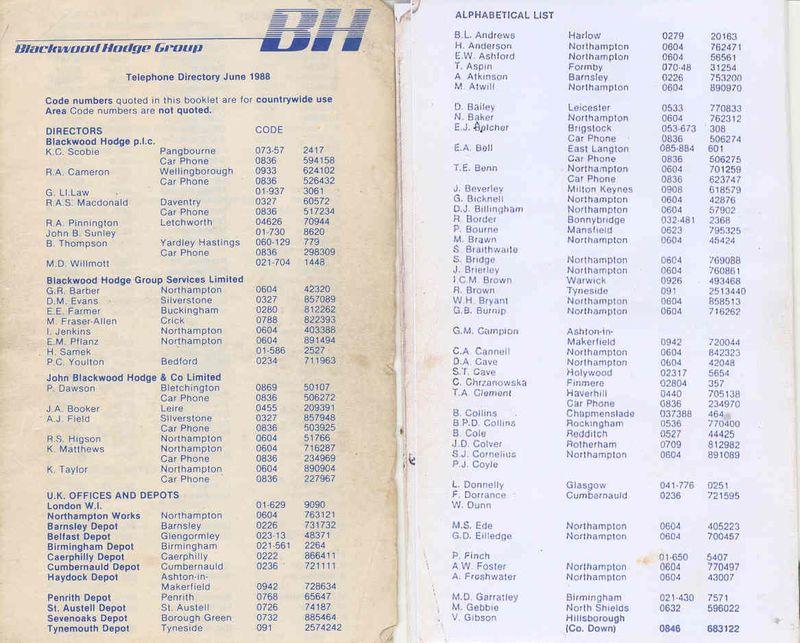 Fone list june 1988 1-2