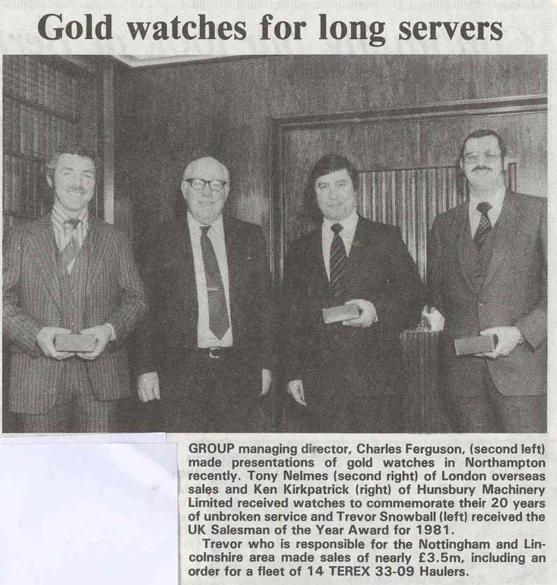 GOLD WATCH 1982