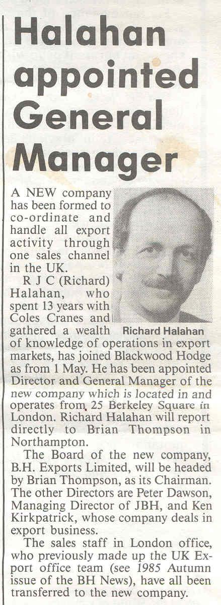 HALAHAN 1986