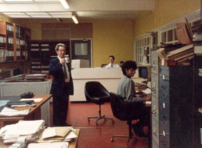 Jim Raby, David ---------, and dont know, Works Cost Office