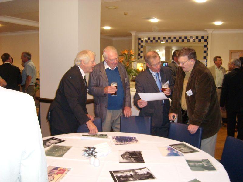 BENNY WHITE, GORFON BICKNELL, JIMMY McCABE, TUG WILSON