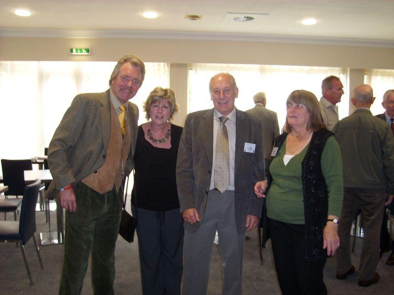 DAVE LAMBOURNE, KATH & BOB STARTIN, ANN BREALEY
