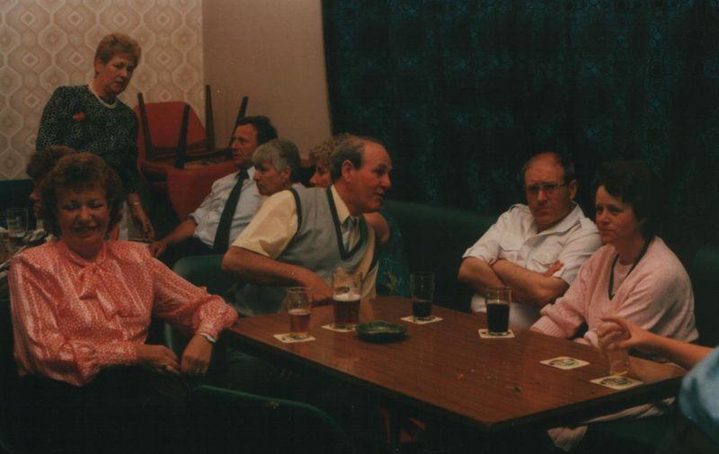 Pip J & bERYL & Glyn Jones & Ann, 1985