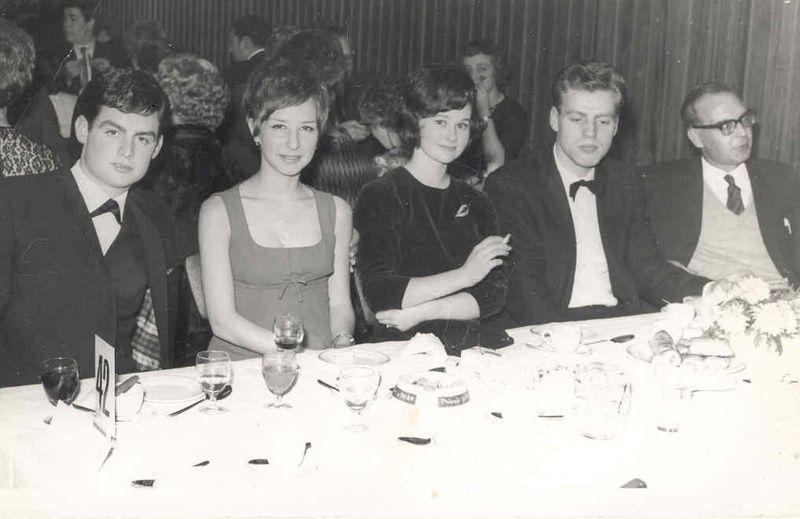 LM, CHAR, MICK & PAT CLARK, BERT HART c1965