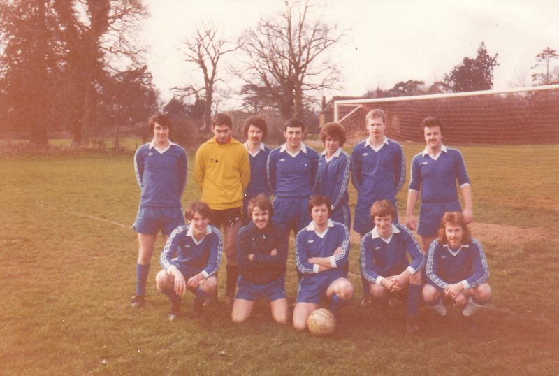Terex Utd 1980-83 Ian Johnson (not), E Gill HCS, Mick McG, Trevor Curtis (not), Steve Greaves Tport(-), Rory Connolly (not), Mick Bedford Accounts,.... Pete Wood & Mick Leonard (not), Glen M, APL, MF.