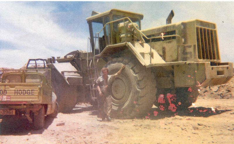 POLE 8 STAN BRIGGS WIMPEY CHAMBISHI MINE ZAMBIA 1971