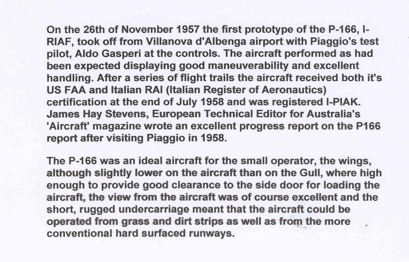 PIAGGIO P.166 concept