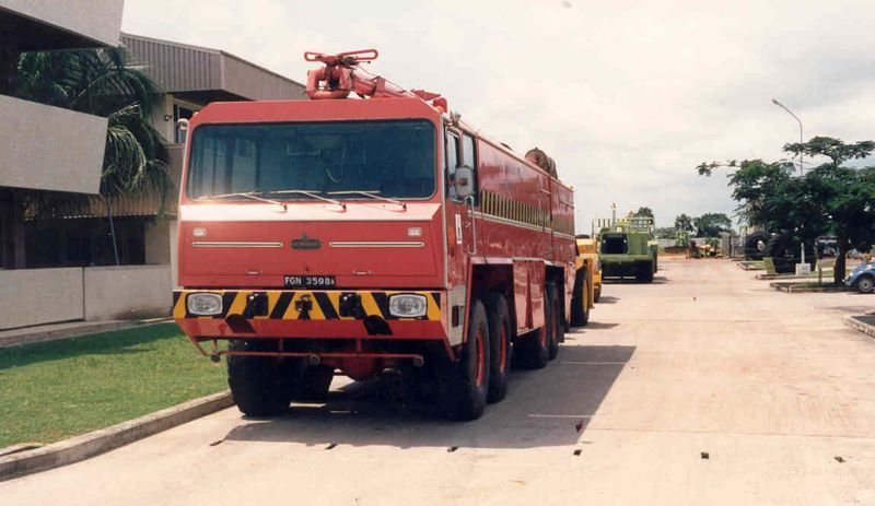 BICKNELL NIGERIAN AIRPORTS AUTHORITY FIRE SERVICE