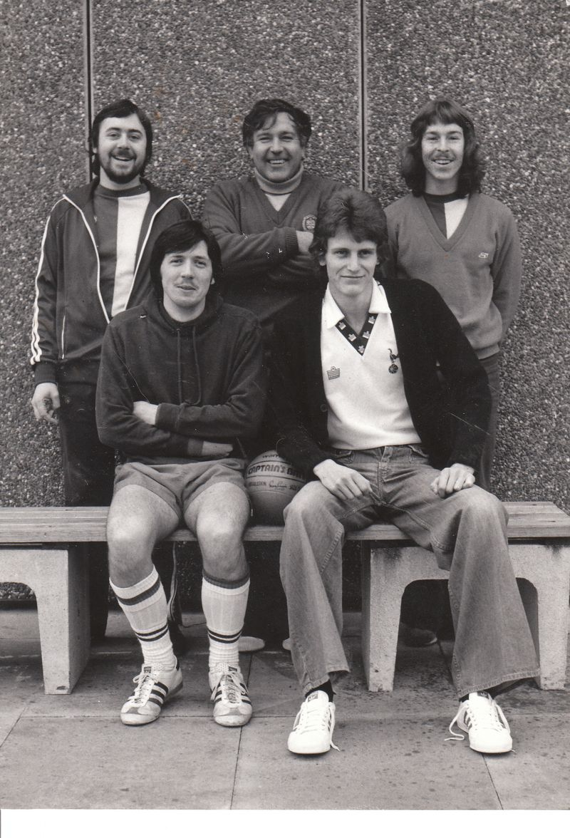HCS Man, Eddie Freeman, Martin Freeman, Glen Moore, Ian Sturdy, Company 5-a-side Accounts Team