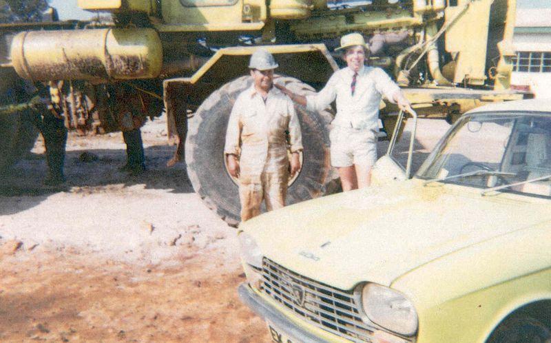 POLE 7 ZAMBIA 1971