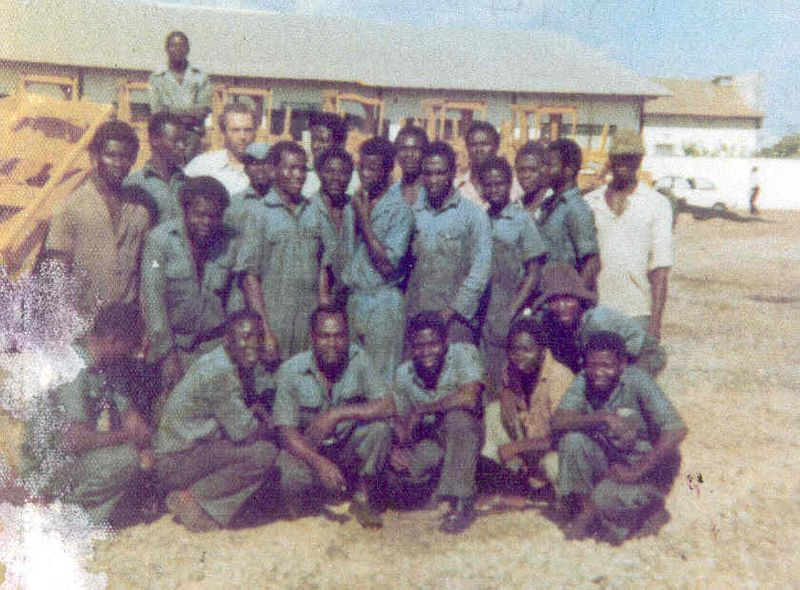 POLE 6 BH GHANA 1974