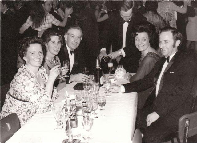 THE SALON, Isabel gebbie, Delphine, Bill, -----, Vera Finch, Dennis, early 70`s