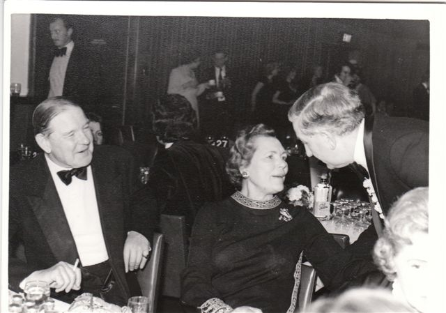 Mary Sunley, Jimmy Cooper, Bill c1975