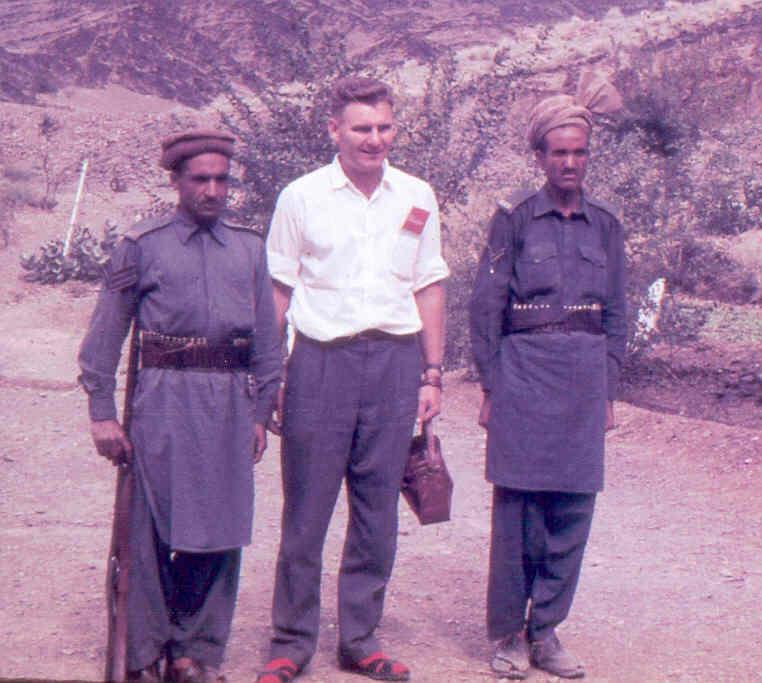 Graham Stark at the Khyber Pass, 1963
