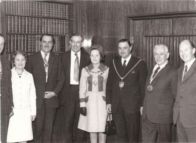 Raft 1973, M&M Allen (AH Allen), Bill, M&M of Northampton, Rotarian, JKA