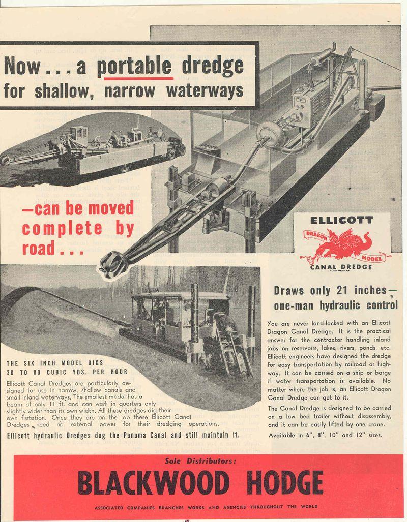 DREDGE OZ 1958
