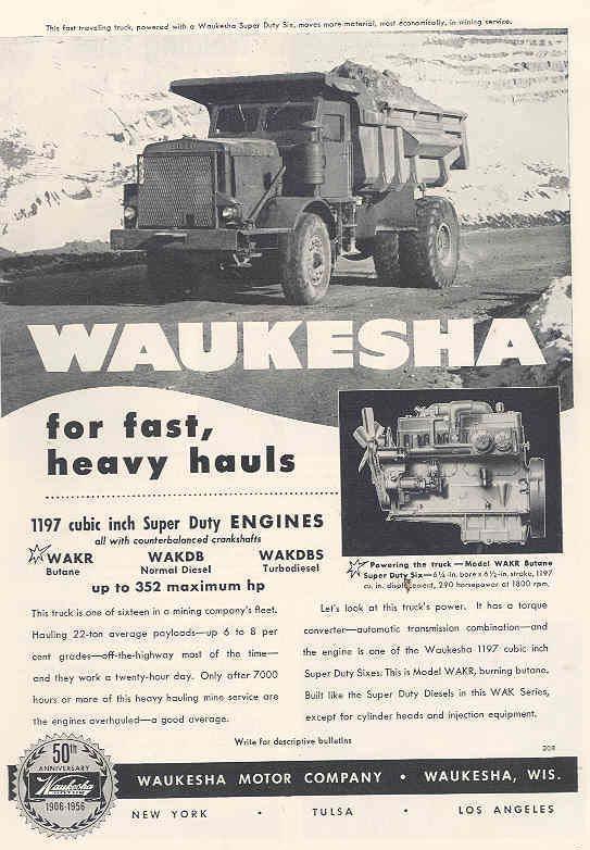 1956 euc waukesha ad