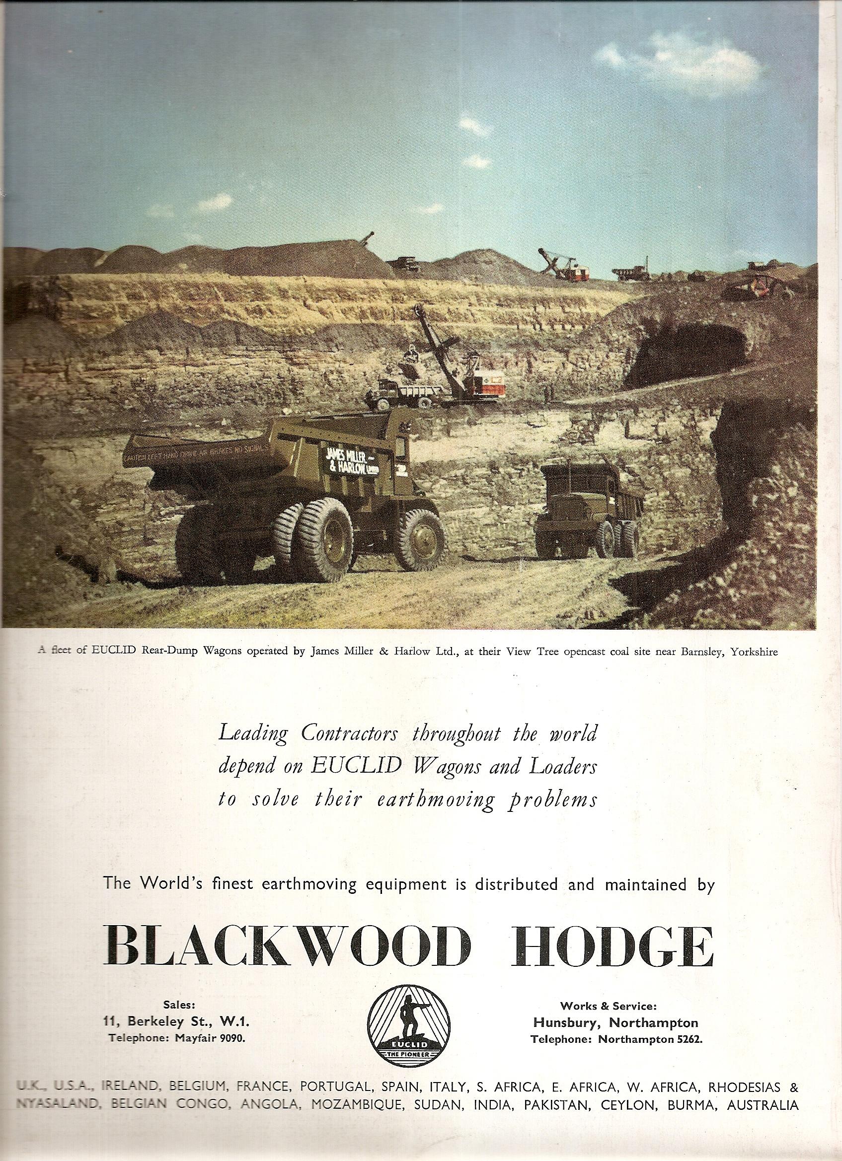 Blackwood Hodge Memories: EUC R15`S REIGNING SUPREME !!